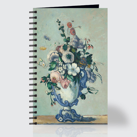 Flowers in a Rococo Vase - Journal - Front