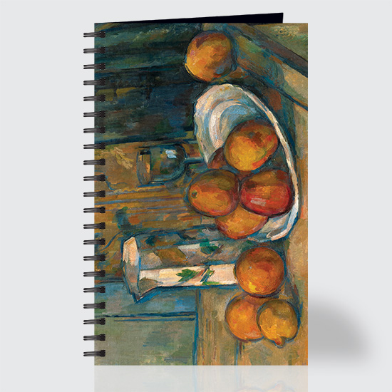 Still Life with Milk Jug and Fruit - Journal - Front