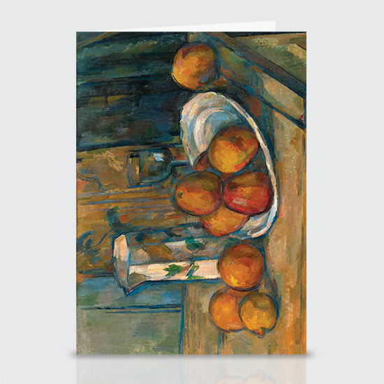 Still Life with Milk Jug and Fruit - Greeting Cards