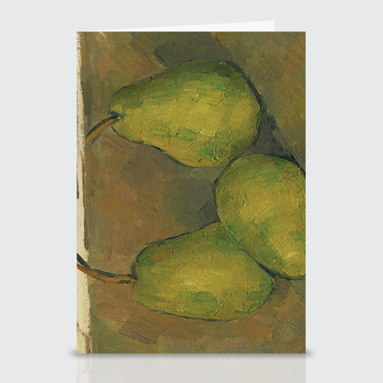 Three Pears - Greeting Cards
