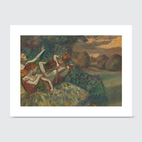 Four Dancers - Art Print
