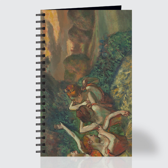 Four Dancers - Journal - Front