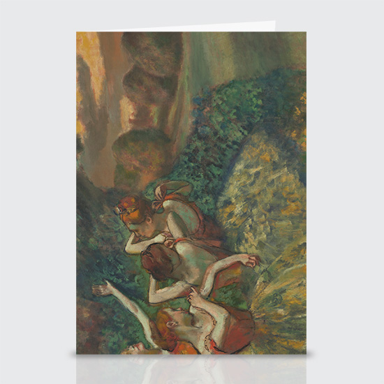 Four Dancers - Greeting Cards