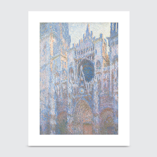 Rouen Cathedral West Façade - Art Print