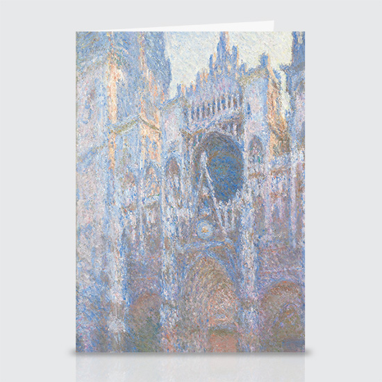 Rouen Cathedral West Façade - Greeting Cards