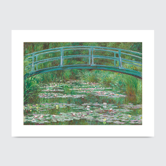 The Japanese Footbridge - Art Print