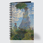 Woman with a Parasol Madame Monet and Her Son - Journal - Front