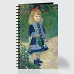 A Girl with a Watering Can - Journal - Front