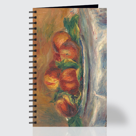 Peaches on a Plate - Journal - Front