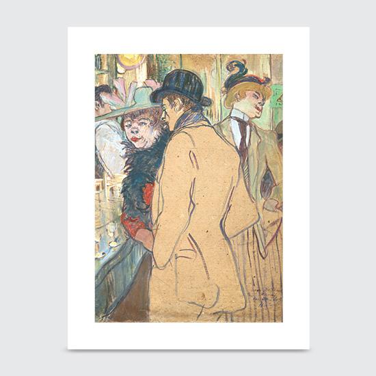 Alfred la Guigne - Art Print