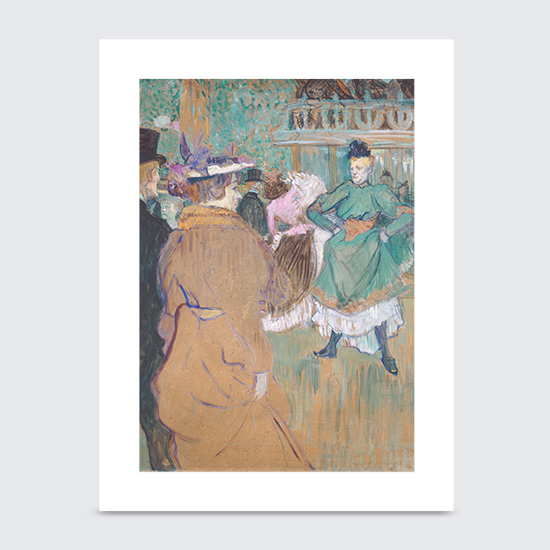 Quadrille at the Moulin Rouge - Art Print