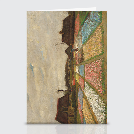 Flower Beds in Holland - Greeting Cards