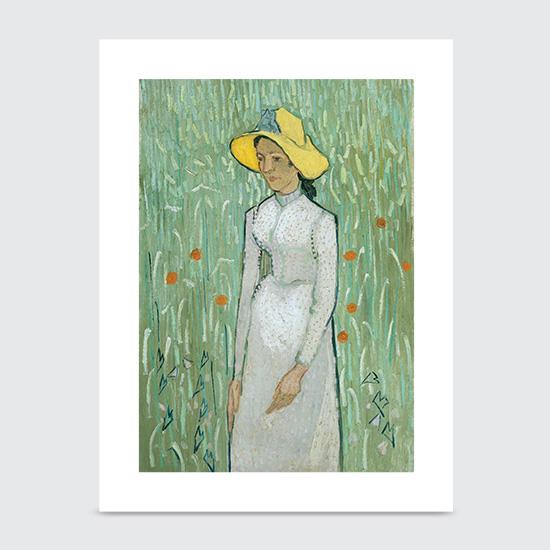 Girl In White - Art Print