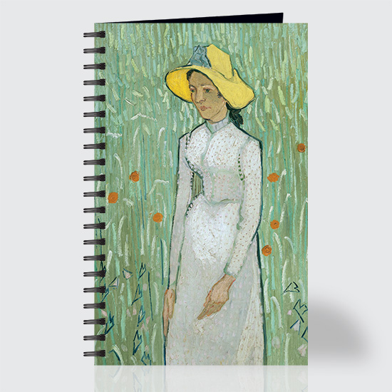 Girl In White - Journal - Front