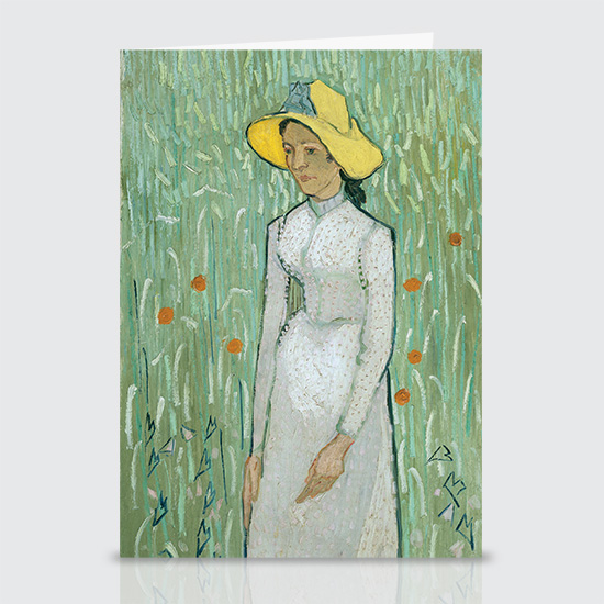 Girl In White - Greeting Cards