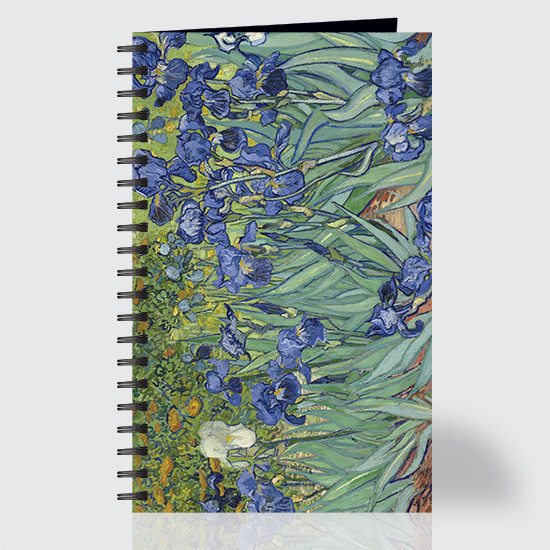 Irises - Journal - Front