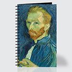 Self Portrait - Journal - Front