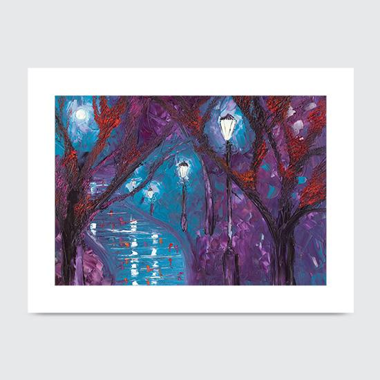 Midnight Soliloquy - Art Print