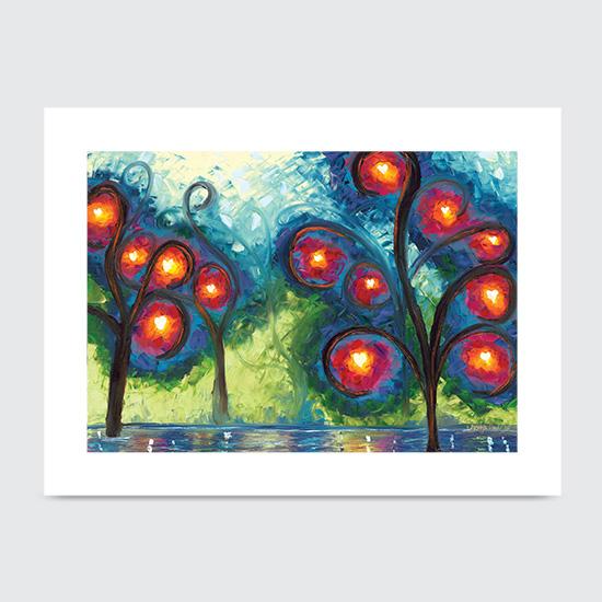 Hearts Afire - Art Print