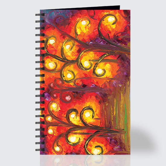 Forest of Fire Orbs - Journal - Front