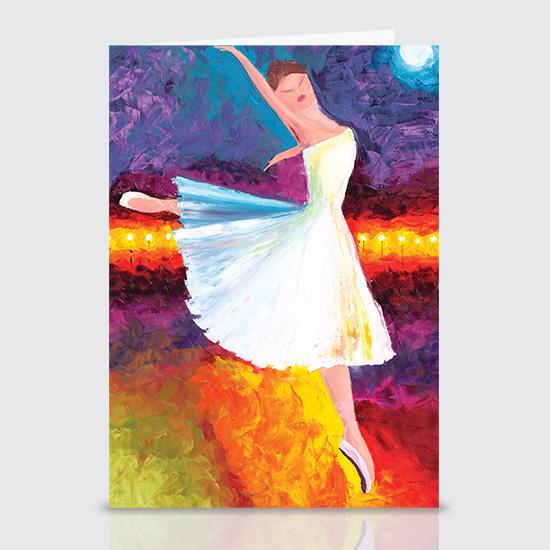 Ballerina - Greeting Cards