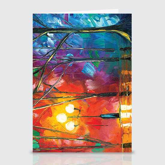Rainy Rendezvous - Greeting Cards