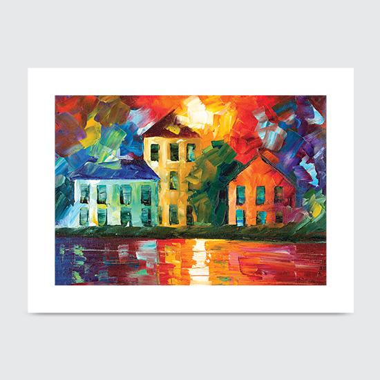 Hidden Harbor - Art Print