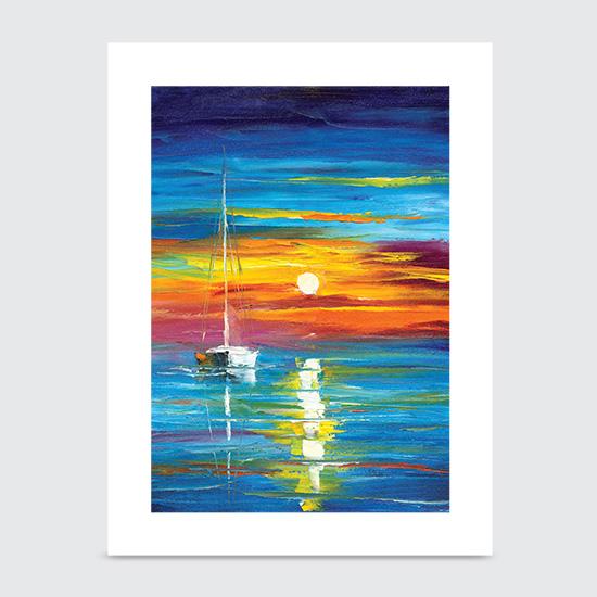 Lost at Sea - Art Print