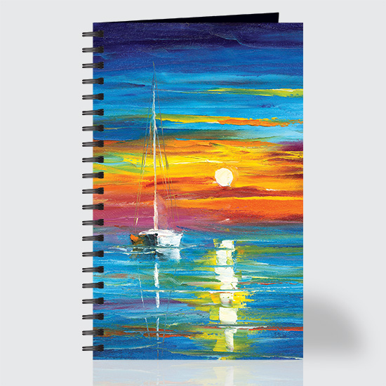 Lost at Sea - Journal - Front