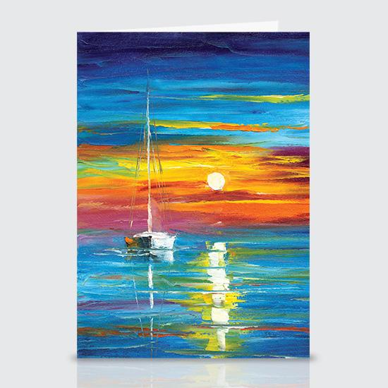 Lost at Sea - Greeting Cards
