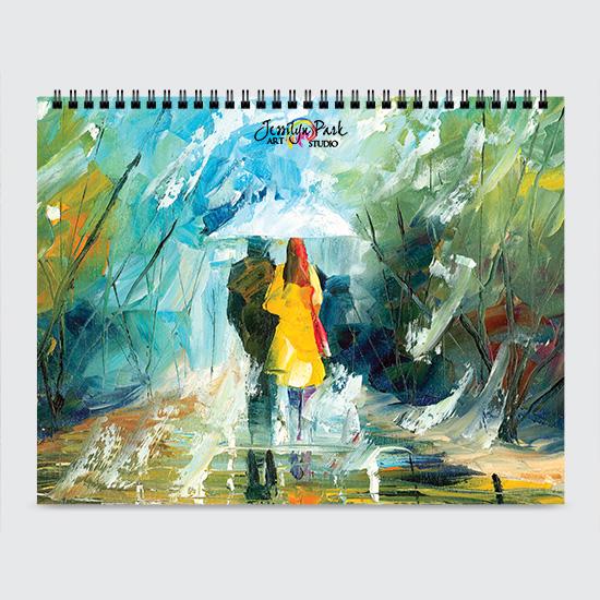 Jessilyn Park Art - Calendar - Cover