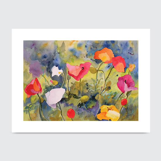 Poppy Meadow - Art Print