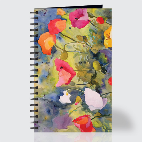 Poppy Meadow - Journal - Front