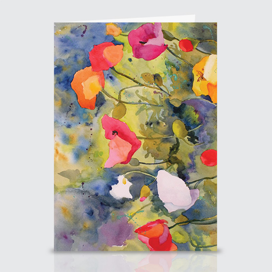 Poppy Meadow - Greeting Cards