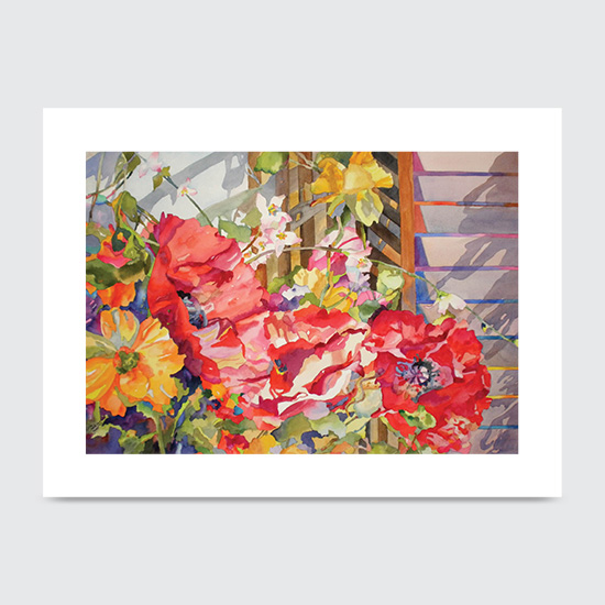 Ruffles Poppies - Art Print
