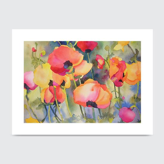 Poppy Presentation - Art Print