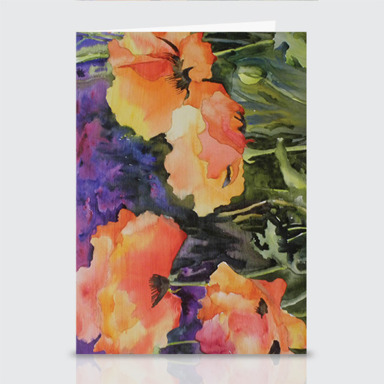 Passion for Poppies - Greeting Cards