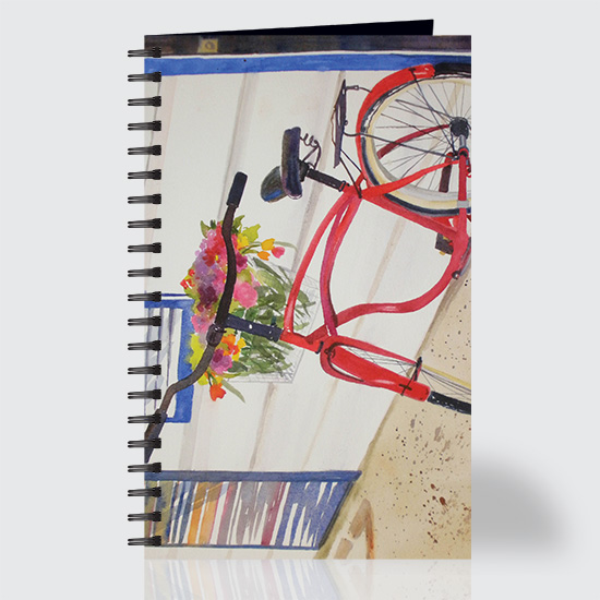 Red Bike - Journal - Front