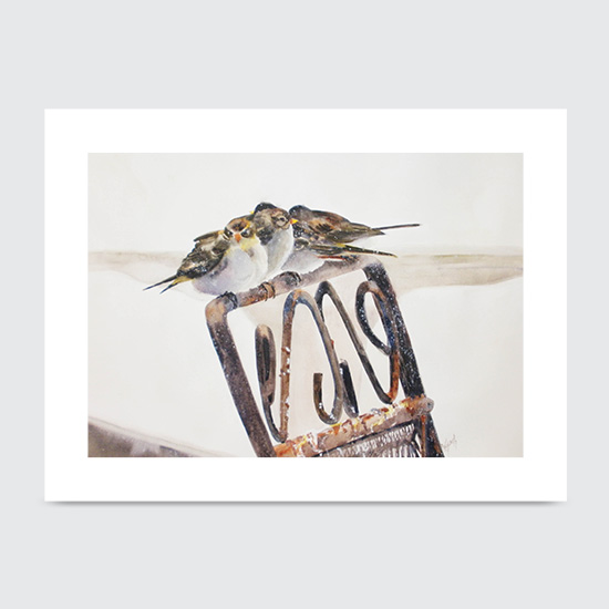 No Fly Zone - Art Print