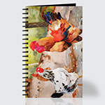 Mollies Chickens - Journal - Front