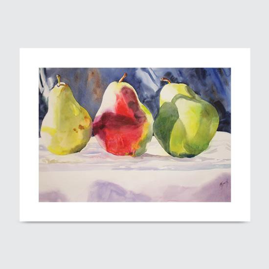 Threes Company - Art Print