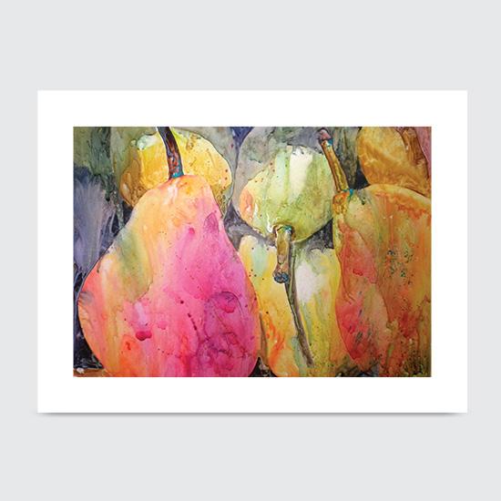 Appearantly Pears - Art Print