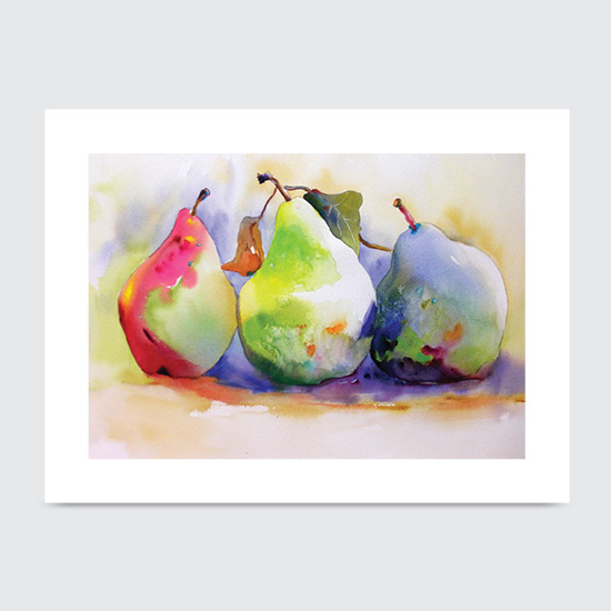Tree-O Pears - Art Print