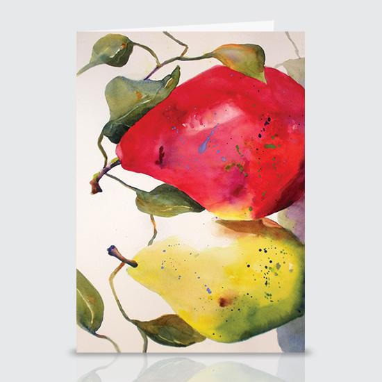 Partnership Pears - Greeting Cards