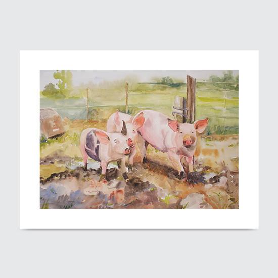 Ham Hocks - Art Print