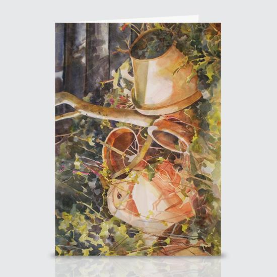 Joannas Pots - Greeting Cards