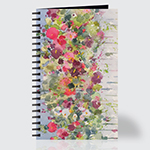 Flowers on a Fence - Journal - Front