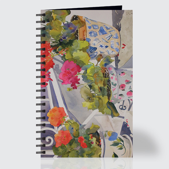 Patio Flowers - Journal - Front