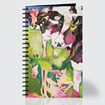 Colorful Holsteins - Journal - Front
