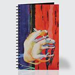 Grazing Donkeys - Journal - Front